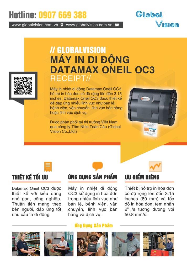Máy In Di Động Datamax Oneil OC3