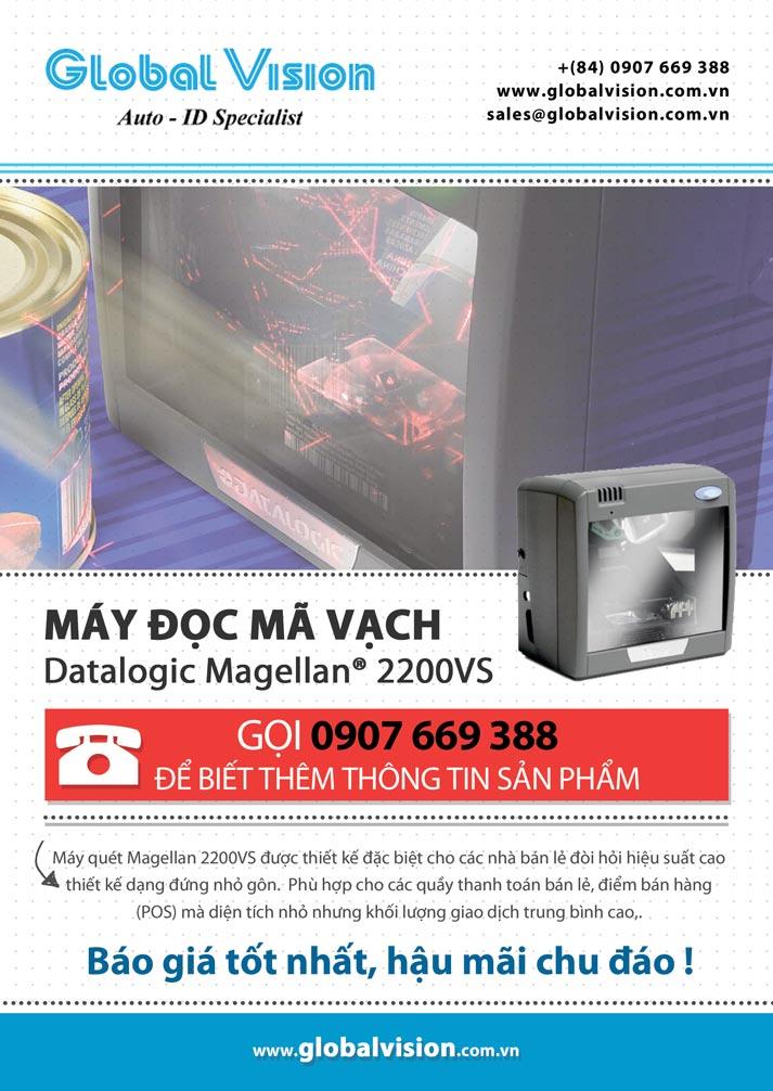 Máy đọc mã vạch Datalogic Magellan® 2200VS