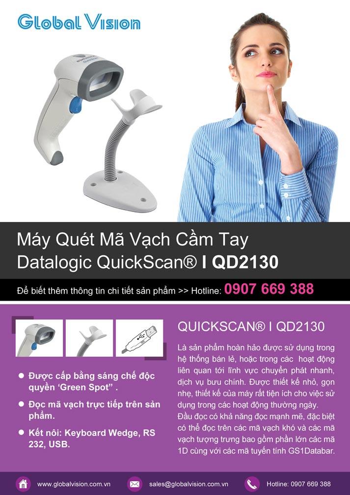 Máy quét cầm tay QuickScan I QD2130 - QD2100
