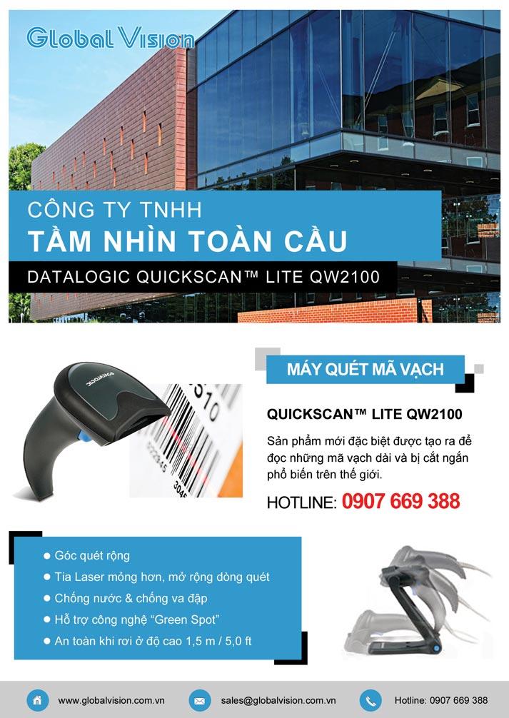 Máy Quét Mã Vạch Datalogic QuickScaner  Lite QW2100